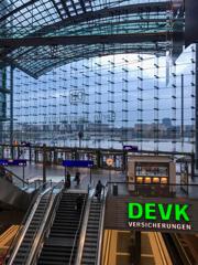 近代的ベルリン中央駅