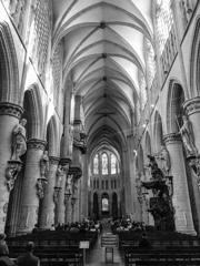 BW見上げる世界 サン・ミッシェル大聖堂2@ブリュッセル