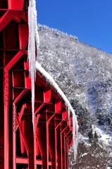 冬の庄川峡 つ・ら・ら