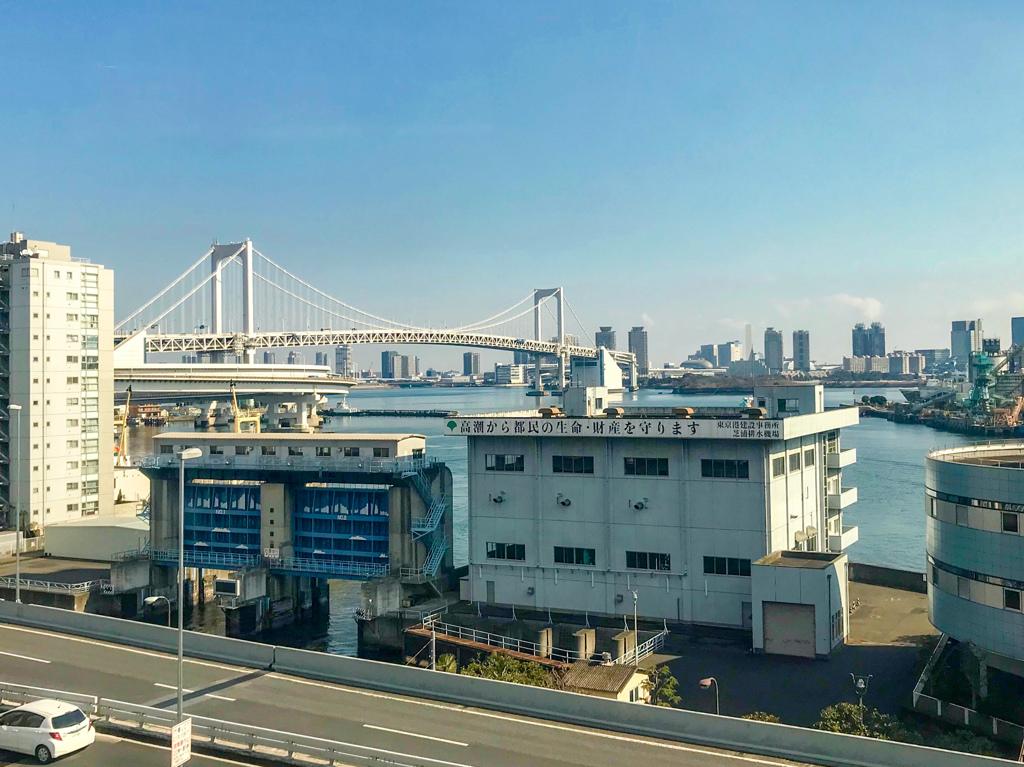 東京も晴れ!@東京モノレール