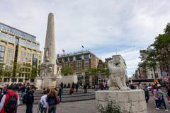 王立モニュメントNationaal Monument@アムステルダム