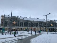 ドレスデン中央駅へ