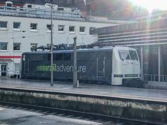 クラシカル機関車なようで・・・@ケルン中央駅