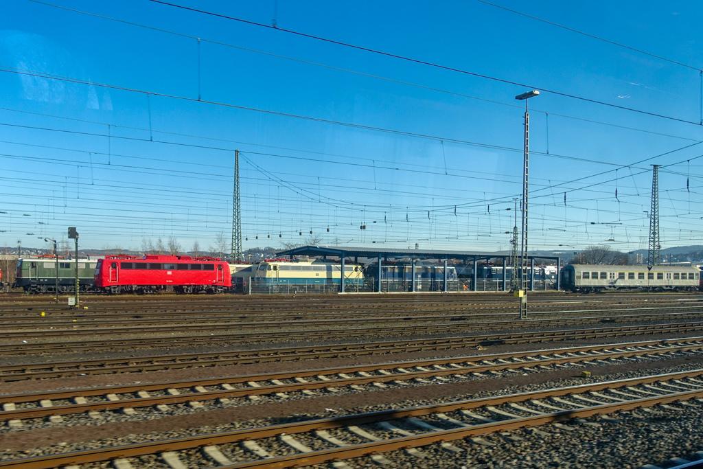 車窓より:DB鉄道博物館@コブレンツ