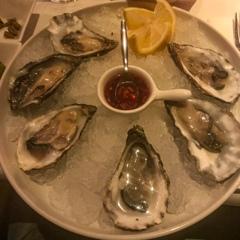 生牡蠣 Rauwe oesters@アムステルダム