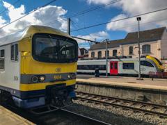 ベルギー国鉄@ブレン・ラルー駅