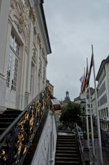 ドイツ&ベルギーの旅 旧市庁舎の野外階段