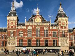 アムステルダム中央駅Station Amsterdam Centraal中央口