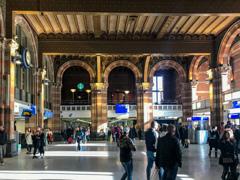 アムステルダム中央駅中央ホール