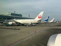 東京国際空港到着・・・その後・・・