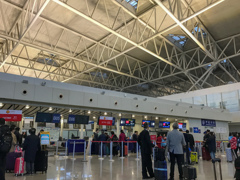 天津滨海国际机场 搭乗手続き