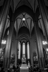 BW見上げる世界 聖バルトロメウス大聖堂@フランクフルト