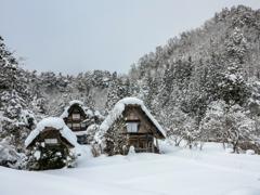 静寂の雪景色・・・