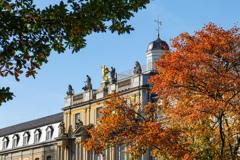 秋のボン コブレンツ門 Koblenzer Tor