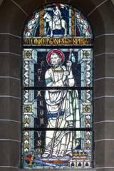 聖エリザベス教会 緻密なステンドグラス@ボン