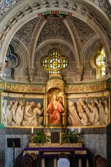 聖エリザベス教会 目を見張る祭壇@ボン