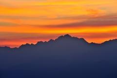 黎明 剱岳