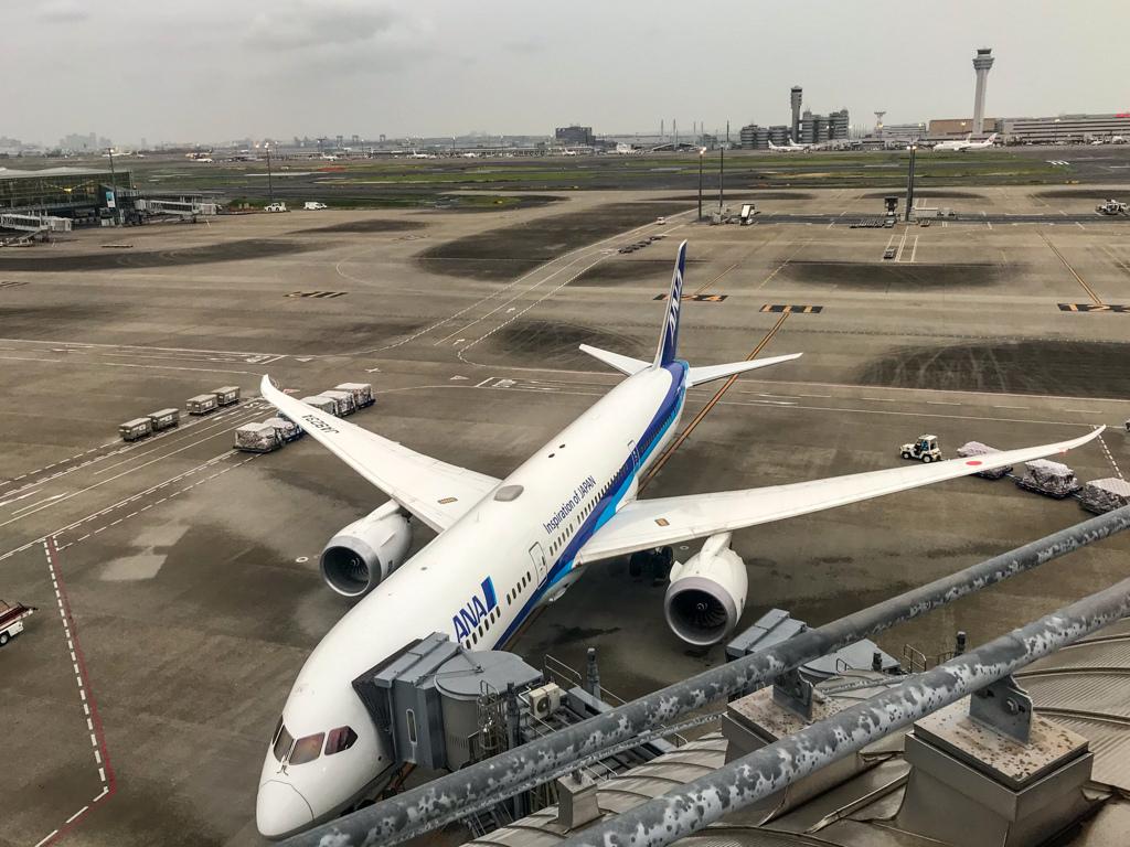 搭乗機 羽田空港第三ターミナル(国際線ターミナル)