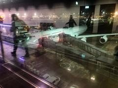 フランクフルト国際空港到着