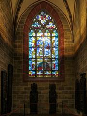 聖ペトリ大聖堂 南側廊ステンドグラス@ブレーメン