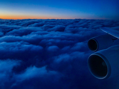 美しき雲上の夕景 その3
