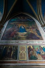 壁面に広がるフレスコ画 その2 アポリナリス教会@レマーゲン