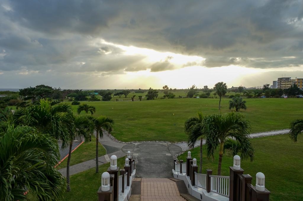 静かなゴルフ場・・・