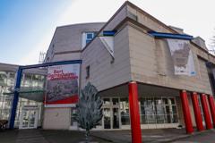 DUS散策 市博物館正面@デュッセルドルフ・カールシュタット