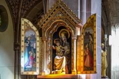 聖エリザベス教会 聖母マリアの祭壇@ボン