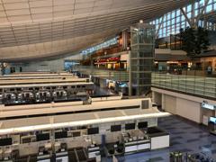 閑散!羽田空港第三ターミナル(国際線ターミナル)2