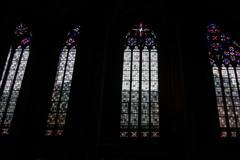 シックなステンドグラス マインツ大聖堂@マインツ