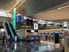 閑散!羽田空港第三ターミナル(国際線ターミナル)
