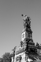 BW見上げる世界 ドイツ帝国発足の記念@リューデスハイム