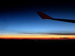 異国の空 黄昏