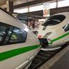 グリーンラインの連結ICE3@デュッセルドルフ中央駅