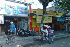 インドネシアの旅 マディウン市内風景