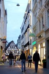 ドイツ&ベルギーの旅 ボン最終日夜 街ブラ