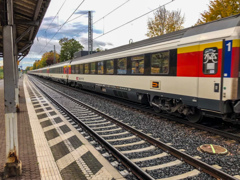 スイス・インターラーケンInterlaken行きEC@ボン・ボイエル駅