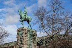 皇帝ヴィルヘルム2世騎馬像@ケルン