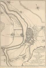 1758年のデュッセルドルフ要塞
