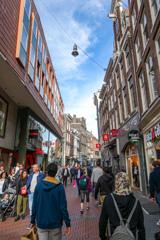 アムステルダム中世初期の通りニューウェンダイクNieuwendijk