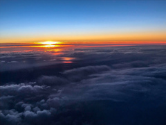 美しき雲上の夕景 その1