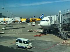 東京国際空港到着