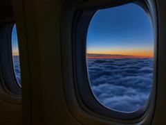 美しき雲上の夕景 その2