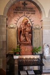 聖エリザベス教会 拝廊の祭壇その2@ボン