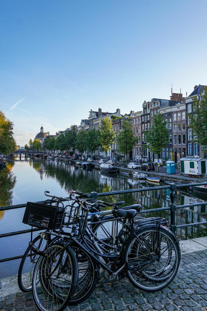 放置自転車!?@アムステルダム
