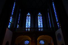 美しき蒼き拝廊 聖シュテファン教会@マインツ