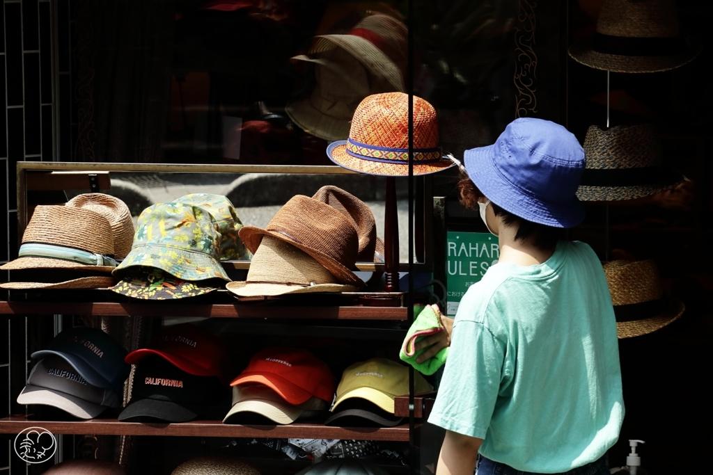 帽子屋さんの帽子