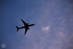 羽田空港着陸ルート -10