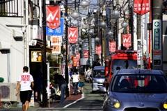 赤堤の商店街